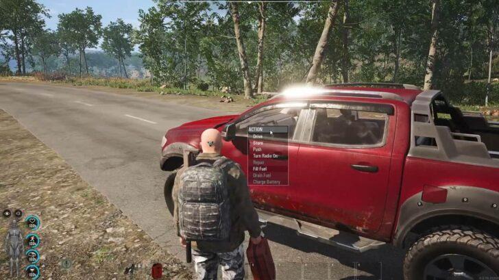 scum как починить машину