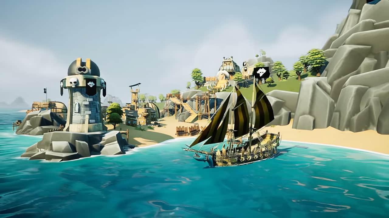 Анонс King of Seas – дата выхода морского приключения